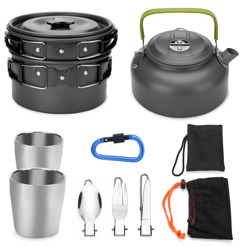 Batterie de cuisine de camping