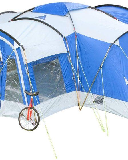 grande Tente de camping familiale